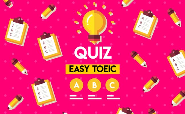 TOEIC Quiz