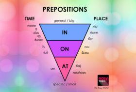 ทีเด็ด Prepositions
